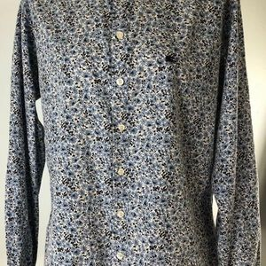 Burberry Of London Mens Floral Large Shirt UK made